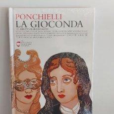 CDs de Música: PONCHIELLI / LA GIOCONDA / LOS CLÁSICOS DE LA ÓPERA-400 AÑOS / 18 / LIBRO-CD / PRECINTADO.. Lote 254985235