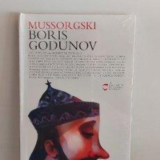 CDs de Música: MUSSORGSKI / BORIS GODUNOV / LOS CLÁSICOS DE LA ÓPERA-400 AÑOS / 16 / LIBRO-CD / PRECINTADO.. Lote 254985320
