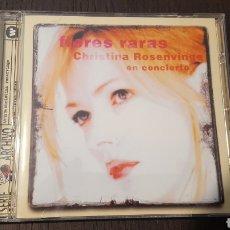 CDs de Música: CD - CHRISTINA ROSENVINGE – FLORES RARAS -SELLO: WEA – 3984 25370 5 - SERIE ARCHIVO - EN CONCIERTO. Lote 236344970