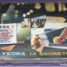 CDs de Música: YEDRA - 14 SECRETOS - CD. Lote 236346555