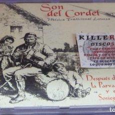CDs de Música: SON DEL CORDEL - MÚSICA TRADICIONAL LEONESA - CD. Lote 236349055