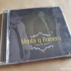 CDs de Música: CD MENTA Y ROMERO (LUNA DE ABRIL) SEVILLANAS - PRECINTADO. Lote 236368490