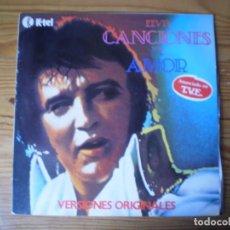 CDs de Música: ELVIS CANCIONES DE AMOR 1979. Lote 236375975