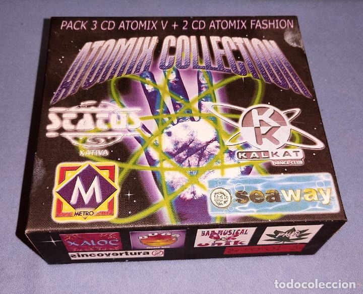 MUY DIFICIL PACK 3 CD ATOMIX COLLECTION DISCO METRO STATUS KALKAT SEAWAY ETC EXCELENTE ESTADO (Música - CD's Disco y Dance)