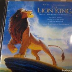 CDs de Música: EL REY LEON THE LION KING WALT DISNEY BSO. Lote 236412105