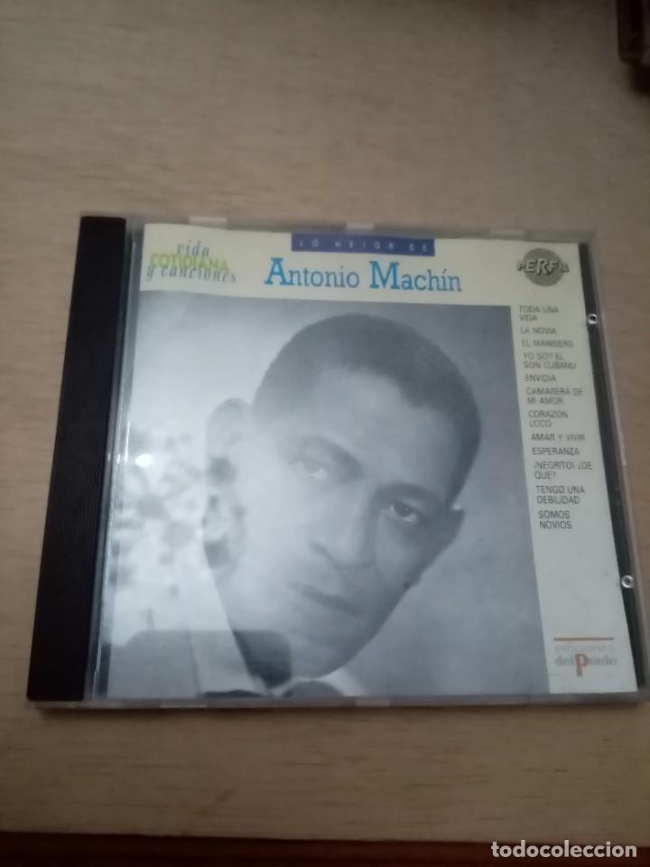 VIDAS COTIDIANA Y CANCIONES LO MEJOR DE ANTONIO MACHIN. B11CD (Música - CD's Otros Estilos)