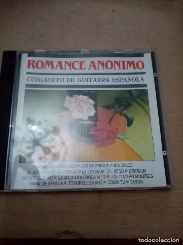 ROMANCE ANONIMO. CONCIERTO GUITARRA ESPAÑOLA. B11CD (Música - CD's Otros Estilos)