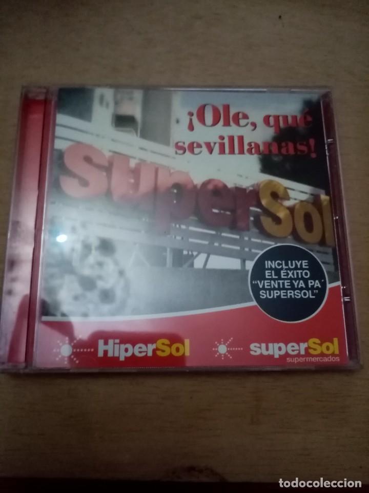 OLE, QUE SEVILLANAS. SUPERSOL. B11CD (Música - CD's Otros Estilos)
