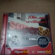 CDs de Música: OLE, QUE SEVILLANAS. SUPERSOL. B11CD. Lote 236415435