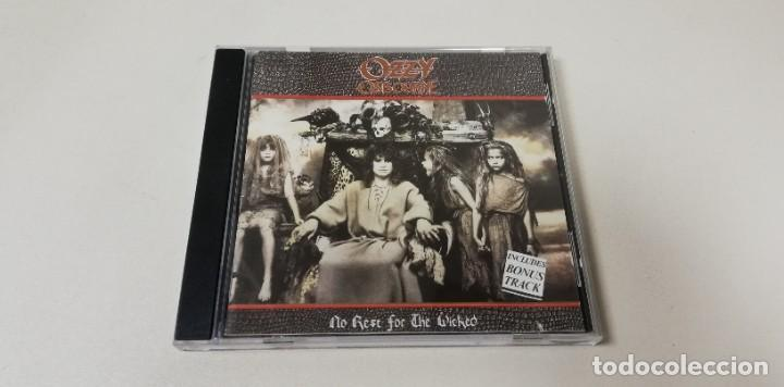 C7- OZZY OSBOURNE NO REST FOR THE WICKED -CD (Música - CD's Otros Estilos)