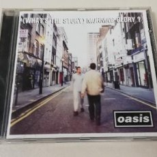 CDs de Música: C7- OASIS (WHAT´S THE STORY) MORNING GLORY?-CD. Lote 236421325