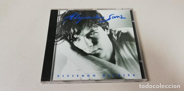 C7- ALEJANDRO SANZ VVIENDO DEPRISA -CD (Música - CD's Otros Estilos)