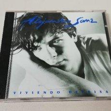 CDs de Música: C7- ALEJANDRO SANZ VVIENDO DEPRISA -CD. Lote 236423615