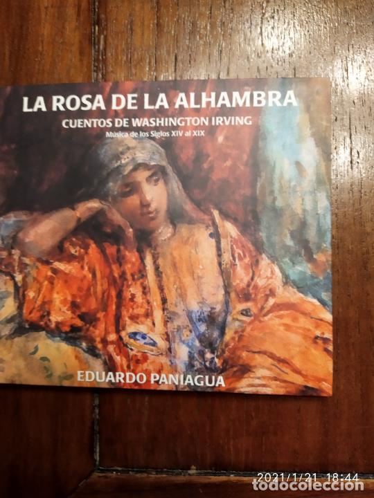 LA ROSA DE LA ALHAMBRA CUENTOS DE WASHIGTON IRVING EDUARDO PANIAGUA (Música - CD's Otros Estilos)