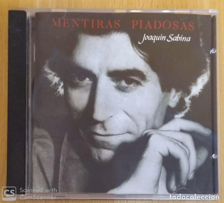 JOAQUIN SABINA (MENTIRAS PIADOSAS) CD 1990 (Música - CD's Otros Estilos)
