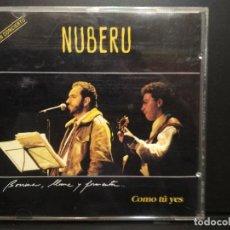 CDs de Música: NUBERU EN CONCIERTU - COMO TÚ YES - CD / FONO ASTUR ASTURIAS PEPETO. Lote 236437670