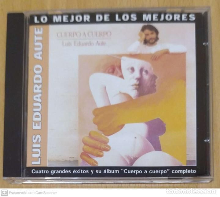 LUIS EDUARDO AUTE (CUATRO GRANDES ÉXITOS Y SU ALBUM CUERPO A CUERPO COMPLETO) CD 2002 (Música - CD's Otros Estilos)