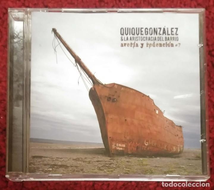QUIQUE GONZALEZ & LA ARISTOCRACIA DEL BARRIO (AVERIA Y REDENCION #7) CD 2007 (Música - CD's Otros Estilos)