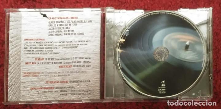 CDs de Música: QUIQUE GONZALEZ & LA ARISTOCRACIA DEL BARRIO (AVERIA Y REDENCION #7) CD 2007 - Foto 3 - 236437905