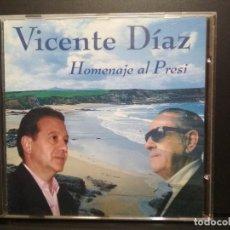 CDs de Música: VICENTE DIAZ - HOMENAJE AL PRESI - CD ALBUM- FOLK ASTURIANO ASTURIAS PEPETO. Lote 236438105