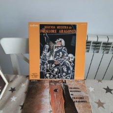 CDs de Música: DISCOS DE VINILLO PRIMERA MUESTRA DE FOLKLORE ARAGONES 2 DISCOS. Lote 236440585