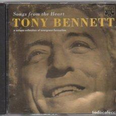 CDs de Música: TONY BENNETT - SONGS FRON THE HEART / CD ALBUM DE 1996 / MUY BUEN ESTADO RF-8981. Lote 236452755