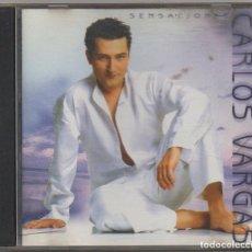 CDs de Música: CARLOS VARGAS - SENSACIONES / CD ALBUM DEL 2003 / MUY BUEN ESTADO RF-8984. Lote 236455500