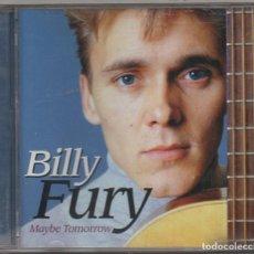 CDs de Música: BILLY FURY - MAYBE TOMORROW / CD ALBUM DEL 2004 / MUY BUEN ESTADO RF-8986. Lote 236455640