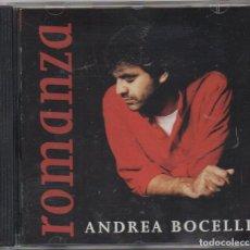 CDs de Música: ANDREA BOCELLI - ROMANZA / CD ALBUM DE 1996 / MUY BUEN ESTADO RF-8990. Lote 236455980