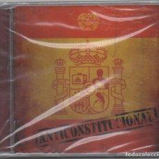 CDs de Música: ARMA X - ANTICONSTITUCIONAL / CD ALBUM DEL 2011 / PRECINTADO. PERFECTO ESTADO RF-8991. Lote 236456110