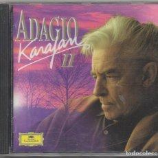 CDs de Música: ADAGIO KARAJAN 2 / CD ALBUM DE 1986 / MUY BUEN ESTADO RF-8992. Lote 236456195