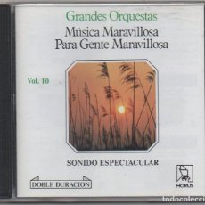 CDs de Música: MUSICA MARAVILLOSA PARA GENTE MARAVILLOSA VOL. 10/ CD ALBUM DE 1989 / MUY BUEN ESTADO RF-8993. Lote 236456305