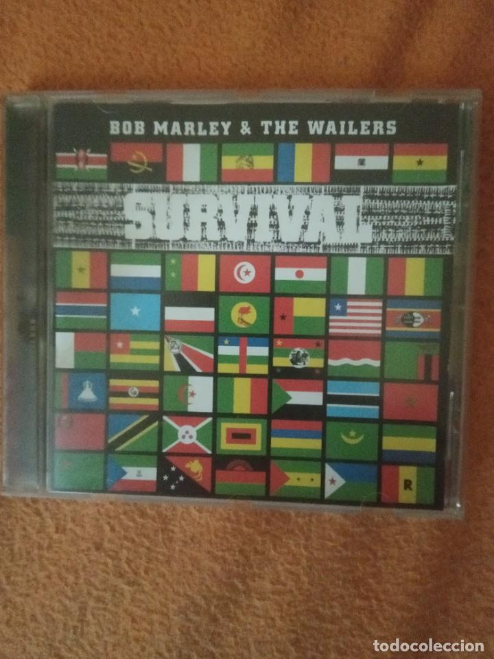 BOB MARLEY - SURVIVAL - TUFF & GONG. (Música - CD's Reggae)
