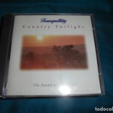 CDs de Música: COUNTRY TWILIGHT. TRANQUILLITY. SOUND OF RELAXATION. 1995 . CD. Lote 236532255