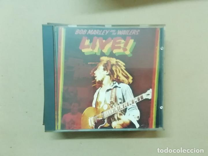 BOB MARLEY & THE WAILERS - LIVE! - CD (Música - CD's Reggae)