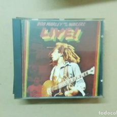 CDs de Música: BOB MARLEY & THE WAILERS - LIVE! - CD. Lote 236532620