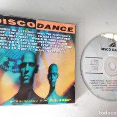 CDs de Música: DISCO DANCE INTERPRETADO POR DJ JUMP HOOKED ON A FEELING,I LIKE TO MOVE IT.... Lote 236536660