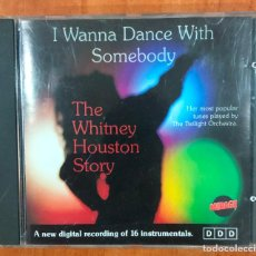 CDs de Música: I WONNA DANCE WITH SOMEBODY. THE WHITNEY HOUSTON STORY. CD MIRAGE RF-8995. Lote 236537050