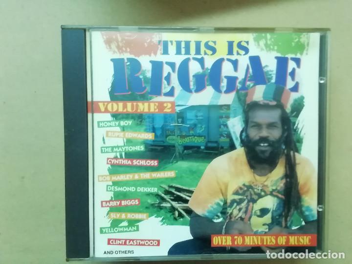 THIS IS REGGAE VOL. 2 - DEKKER MARLEY PLUTO EASTWOOD ... - CD (Música - CD's Reggae)