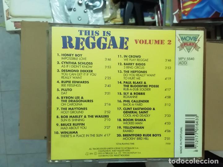 CDs de Música: THIS IS REGGAE VOL. 2 - DEKKER MARLEY PLUTO EASTWOOD ... - CD - Foto 2 - 236538485