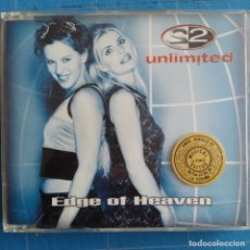 CDs de Música: 2 UNLIMITED - EDGE OF HEAVEN (CD, MAXI). Lote 236540960