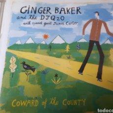 CDs de Música: GINGER BAKER COWARD OF THE COUNTY. Lote 236586880