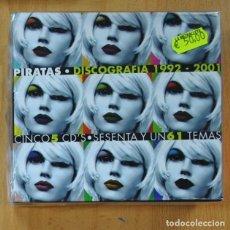 CDs de Música: LOS PIRATAS - DISCOGRAFIA 1992 / 2001 - 5 CD. Lote 236607490