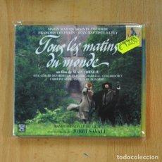 CDs de Música: JORDI SAVALL - TOUS LES MATINS DU MONDE - CD. Lote 236607545