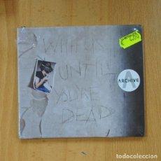 CDs de Música: ARCHIVE - WITH US UNTIL YOU'RE DEAD - CD. Lote 236607655