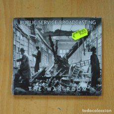 CDs de Música: PUBLIC SERVICE BROADCASTING - THE WAR ROOM - CD. Lote 236607865