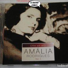 CDs de Música: AMÁLIA RODRIGUES VOL 1, THE ART OF, CD EDIÇÕES VALENTIM DE CARVALHO, 1998, FADO, EXCELENTE ESTADO. Lote 236616255