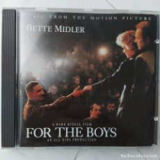 CDs de Música: BETTE MIDLER - FOR THE BOYS - MUSIC FROM THE MOTION PICTURE (CD, ALBUM). Lote 236624735