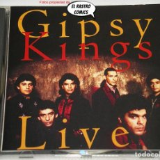CDs de Música: GIPSY KINGS, LIVE, CD COLUMBIA, RUMBA. Lote 236631570