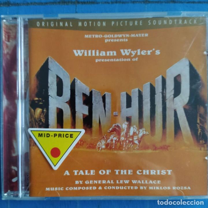 MIKLOS ROZSA - BEN-HUR (ORIGINAL MOTION PICTURE SOUNDTRACK) (CD, RM) (Música - CD's Bandas Sonoras)